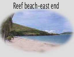 St. Croix beach features fine white sand