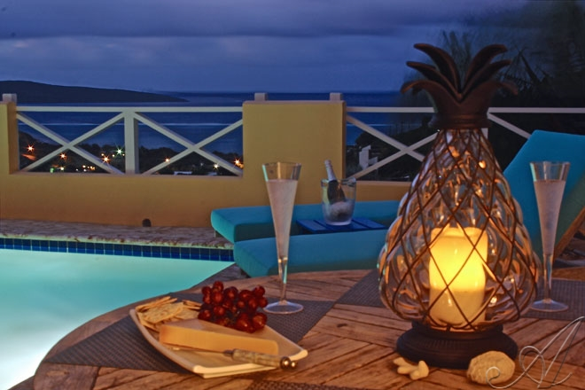 Romantic nights at your private pool deck!