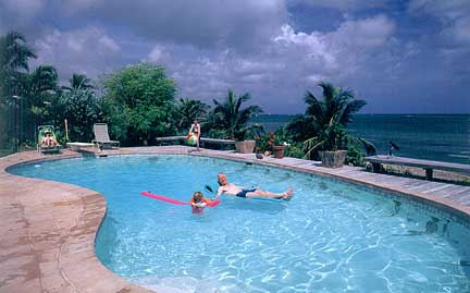 St. Croix features beach front vacation villas up to elegant estates with spectacular water views